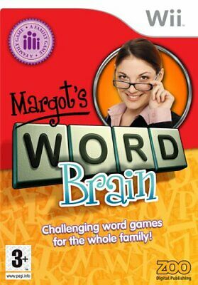 Margot's Word Brain (Wii)  PEGI - Game  2UVG The Cheap Fast Free Post