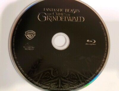 Fantastic Beast The Crimes of Grindelwald (2019) BLU RAY Disc ONLY, NEW MINT