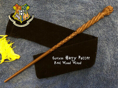 "MadEye Moody's Wand 15"", REAL WOOD, Harry Potter, JAPAN Wizarding World, Rare HP"