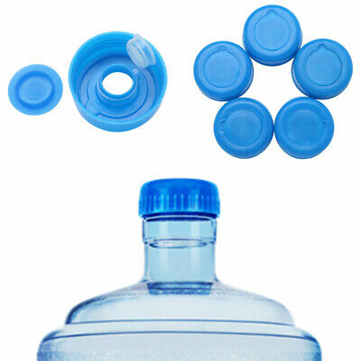 9ae36e3673d 5pcs 55mm Reusable Gallon Drinking Water Bottle Screw on Caps Replacements  Lids