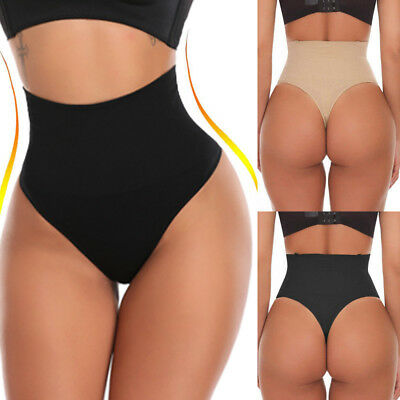 US Body Shaper Sexy Thong G String High Waist Tummy Control Invisible Shapewears