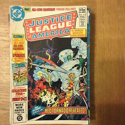 Justice League of America issue 193 from August 1981 - discounted post