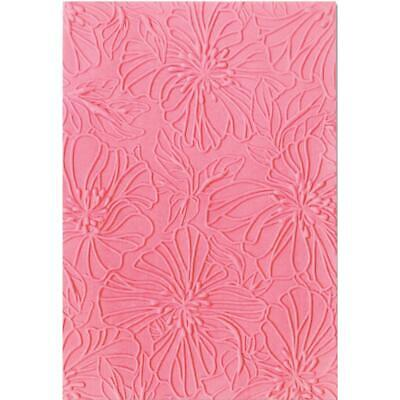 Sizzix 3D Impresslits Embossing Folder By Courtney Chilson - Azalea