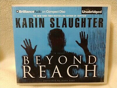 "Karin Slaughter audiobook ""BEYOND REACH"" Unabridged 12 discs"