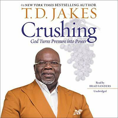 Crushing God Turns Pressure into Power by Brad Sanders Audiobook BEST SELLING