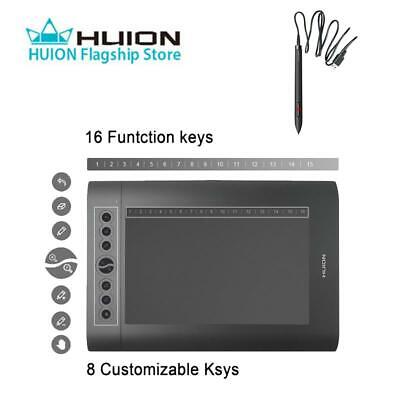 USB HUION H610 Pro Graphic Paiting Tablet Electric Drawing