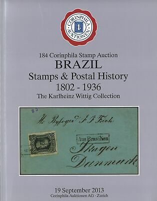 BRASILIEN/BRAZIL: 184. Corinphila-A. 2013: The Karlheinz Wittig Collection