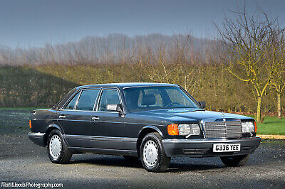 Mercedes Benz 420Sel -  Only 15,000 Kms - Left Hane Drive - Classic W126