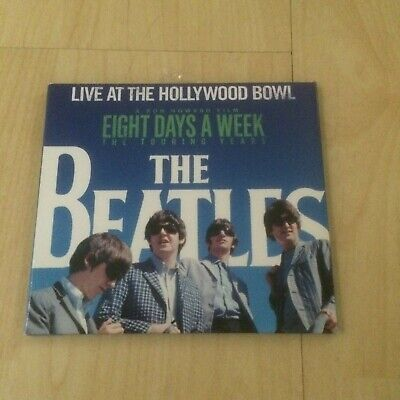 The Beatles - Live At The Hollywood Bowl (2016 Remastered Cd Album In Digipak)
