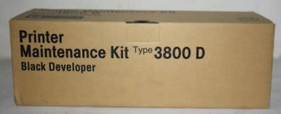 Ricoh Printer Maintenance Kit Type 3800 D Black Developer  400661 New