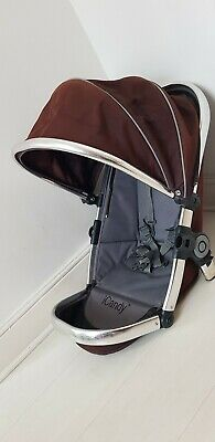 iCandy Peach main seat unit in brown