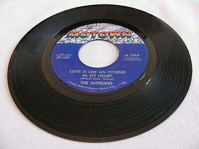 3 The Supremes - Love Is Like An Itching In My Heart / He's All I Got - Motown