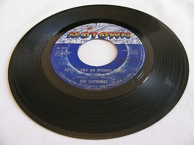 5 The Supremes - Love Is Like An Itching In My Heart / He's All I Got - Motown