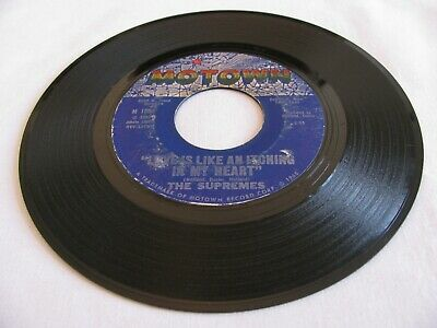 7 The Supremes - Love Is Like An Itching In My Heart / He's All I Got - Motown