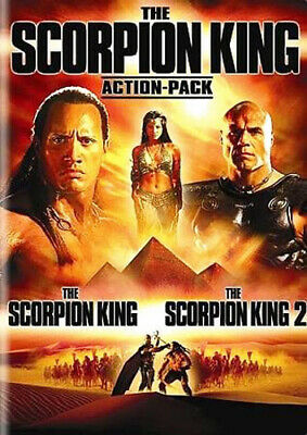 The Scorpion King 1 / The Scorpion King 2: Rise of a Warrior (2 Disc) DVD NEW