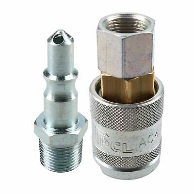 "PCL 60 Series Female Coupler 3/8"" BSP Female Thread & Male Air Fitting Adaptor"