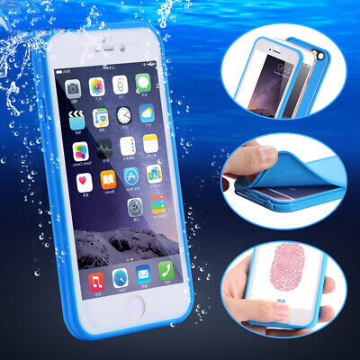 Waterproof Shockproof Hybrid Rubber TPU Case Cover For iPhone XS MAX X 7 8 Plus