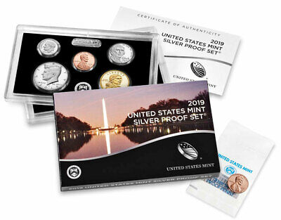 2019 US Silver Proof Coin Set and 2019-W Reverse Proof Lincoln Cent SKU57884