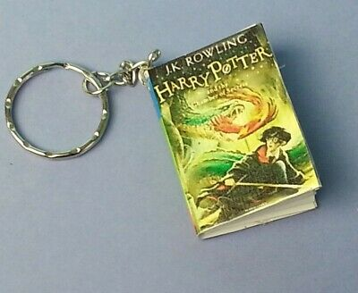 Harry Potter Keyring Keychain The Chamber of Secrets Mini Book