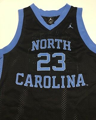 034a692f87e Youth Nike UNC Tar Heels Michael Jordan Jordan Brand #23 Black Size Medium