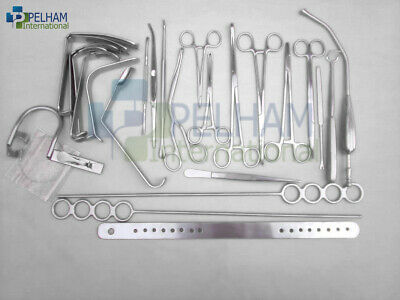 Surgical Tonsillectomy Set of 27 pieces Finest Surgical Instruments and Sets