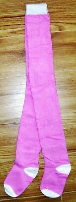 New Next Girls Tights 2-3 Yrs Candy Pink Cotton Party Wedding Christmas Winter