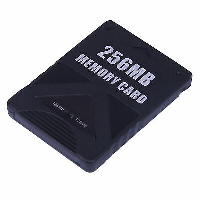 PS2 Memory Card 256MB High Speed Storage For Sony PlayStation 2 Game Save
