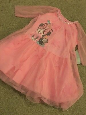Disney Store Girls Tuille Dress Minnie Mouse Mesh Netting Age 3