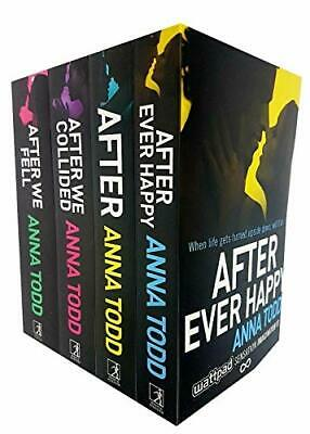 Anna Todd's The After Series 5 Books Set Af by Anna Todd New Paperback Book