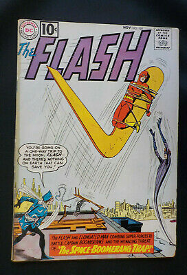 The Flash #124 ! DC 1961 ! VERY NICE PAGES ! 10¢ COVER ! INFANTINO ! hayfamzone