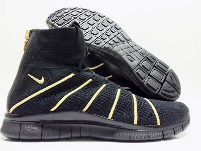776e42323 Nike Free Fk Mercurial Or Olivier Rousteing Black gold Sz Men s 9.5  834906-