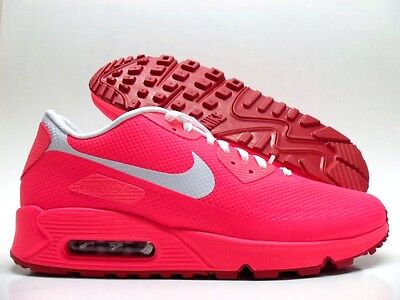 0bd98449a7 Nike Air Max 90 Hyperfuse Premium Id Solar Red/White Size Men's 9.5 [822560