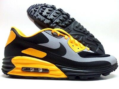 f2d6564ada Nike Air Max 90 Hyp Hyperfuse Id Black/Grey-Canyon Gold Sz Men 13
