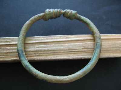 Ancient Illyrians Bronze Twisted Top Bracelet 1200-800 B.c.