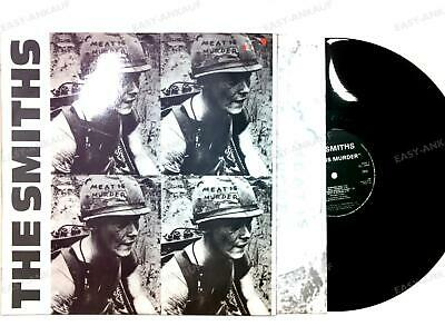 The Smiths - Meat Is Murder Portugal LP 1985 + Innerbag /4