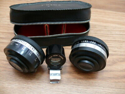 Prinz auxiliary wide angle and telephoto lens for Kodak Instamatic.