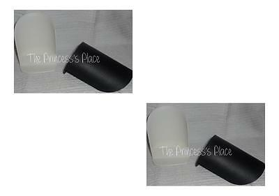 Tupperware 4 Round Rocker Scoops Flour Sugar Black & White Canister Gadgets New