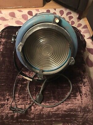 Furse Vintage Retro like strand Large Stage ,Theatre Light, Film Spot Light