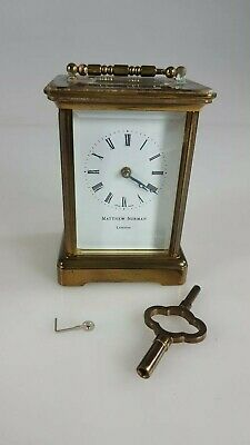 Antique Matthew Norman London - Carriage Clock - For Restoration