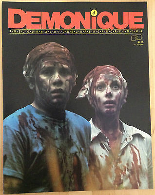 Demonique No. 4 The Journal Of Obscure Horror Cinema