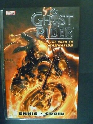 Ghost Rider Road To Damnation Garth Ennis Clayton Crain Marvel Softcover