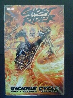 Ghost Rider Vol. 1 Vicious Cycle Marvel Softcover