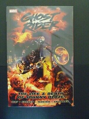 Ghost Rider Vol. 2 The Life & Death of Johnny Blaze Marvel Softcover