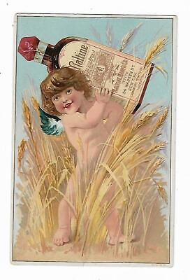 Old Quack Medicine Trade Card MALTINE Mfg Co New York Extract Food NAKED Baby