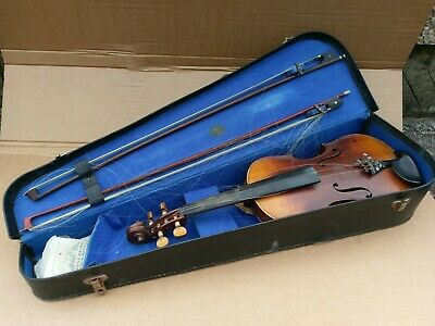 Antique violin in case with bows #2 – Irish fiddle ?