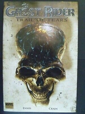 Ghost Rider Trail of Tears Ennis Crain Premier Edition Marvel Hardcover