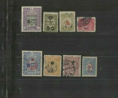 APR 168 TURKEY - Ottoman Empire Cilicia Cilicie lovely USED/MH stamps high $$