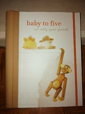 Baby To Five An Early Years Journal Spiral Bound Hardback NEW