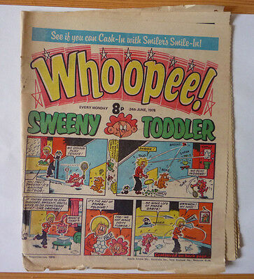 Whoopee 24 June 1978 Issue - British Weekly - Good Condition