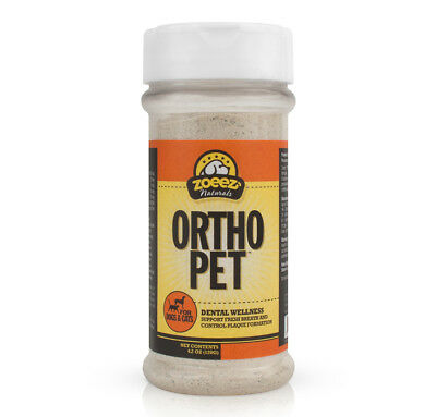 Zoeez® Naturals ORTHA PET DENTAL WELLNESS FOR DOGS & CATS 120g UK Stock!